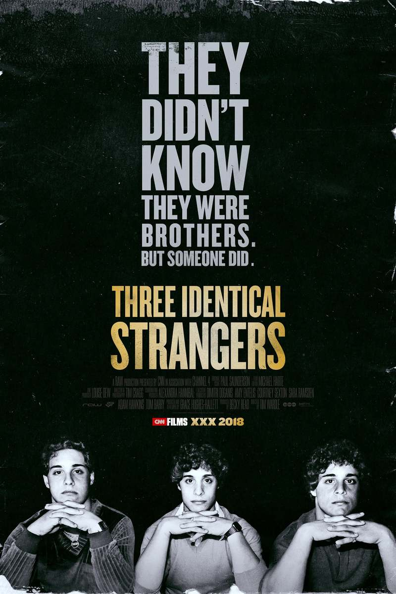Three Identical Strangers – October 1st @7:00pm – SOLD OUT